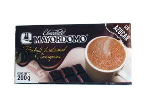 Mayordomo Mexican Chocolate, 100% Cacao, 200 gm.