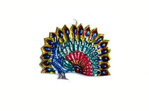 Peacock Flashing, Mexican tin ornament