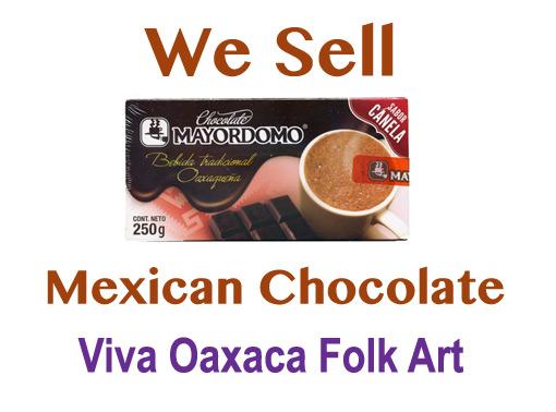 Mayordomo Mexican Chocolate, Cinnamon blend, 250 gm (8.9 oz)
