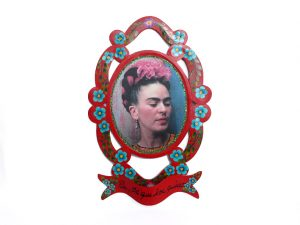 Frida Kahlo, Tin Wall Plaque (guirnalda)