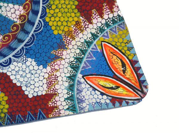 Manta Ray, Oaxacan Wood Carving, Wall Art, #3
