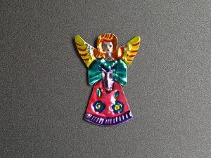TIN MAGNET - Angel Figure