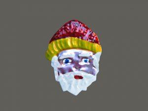 TIN MAGNET - Santa Face