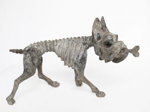 Boxer by Tribus Mixes, skeleton carving