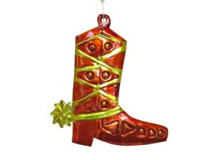 Boot with Spurs, tin ornament