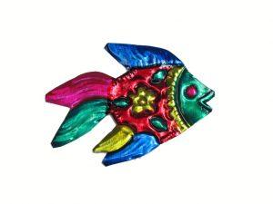 TIN MAGNET - Tropical Fish