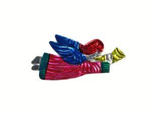 TIN MAGNET - Flying Angel