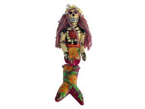 Skeleton Mermaid with Rag Doll Hair, #1