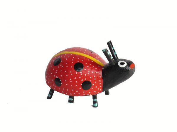 MINI CARVING Stocking Stuffer - Ladybug Alebrije