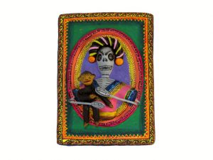Frida Kahlo and Monkey, wall art