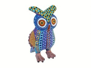 Owl Alebrije, multicolored