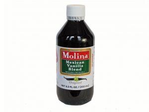Molina Mexican Vanilla Blend, 8.3 ounce liquid (250 ml) bottle