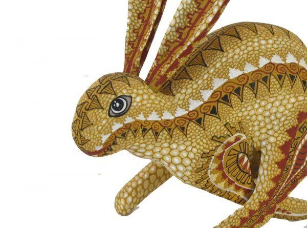 Running Rabbit Alebrije, tan