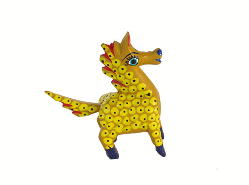 MINI CARVING - Horse Alebrije, multi-colors, 2-inch