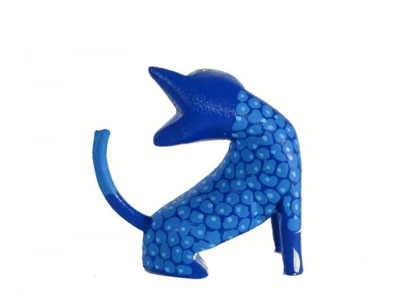 MINI CARVING Stocking Stuffer - Cat Alebrije, 2-inch