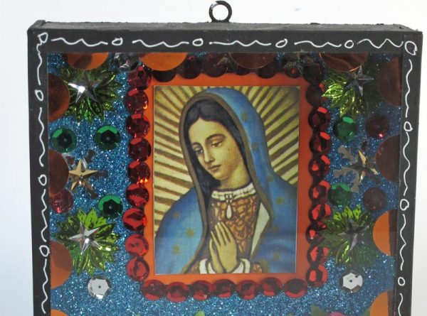 Lady of Guadalupe Diorama, portrait view