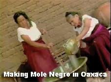 making mole negro in oaxaca