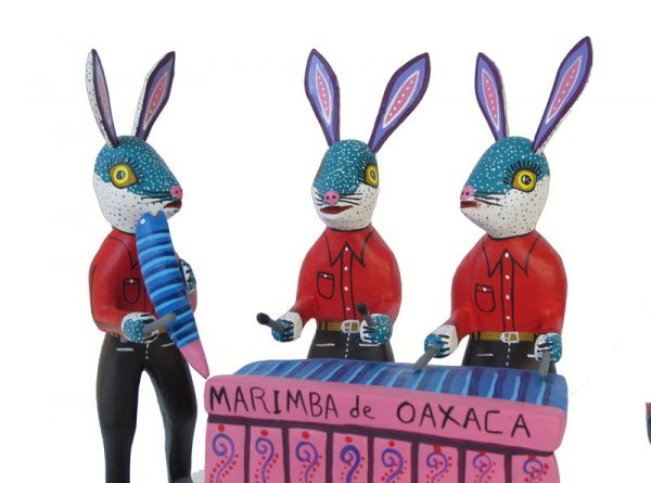 Nahual Rabbit Marimba Band, 6-piece