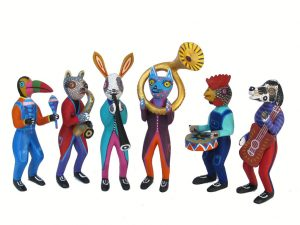 Animal Musicos Band, 6-piece, Oaxaca Alebrijes
